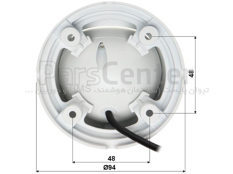 دوربین مداربسته داهوا | HD-CVI | دام | 2 مگاپیکسل | DH-HAC-HDW1220MP