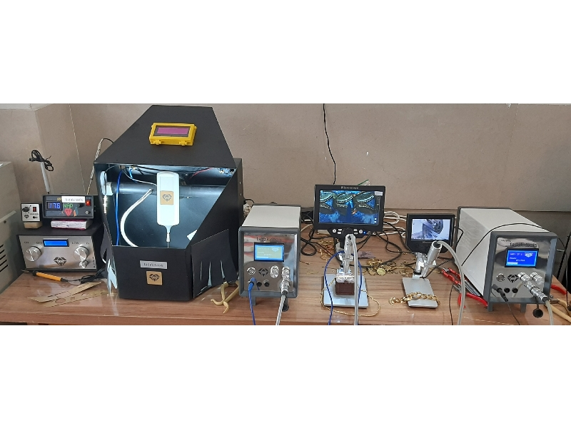 تعمیرات دستگاه های زرگری علیپور