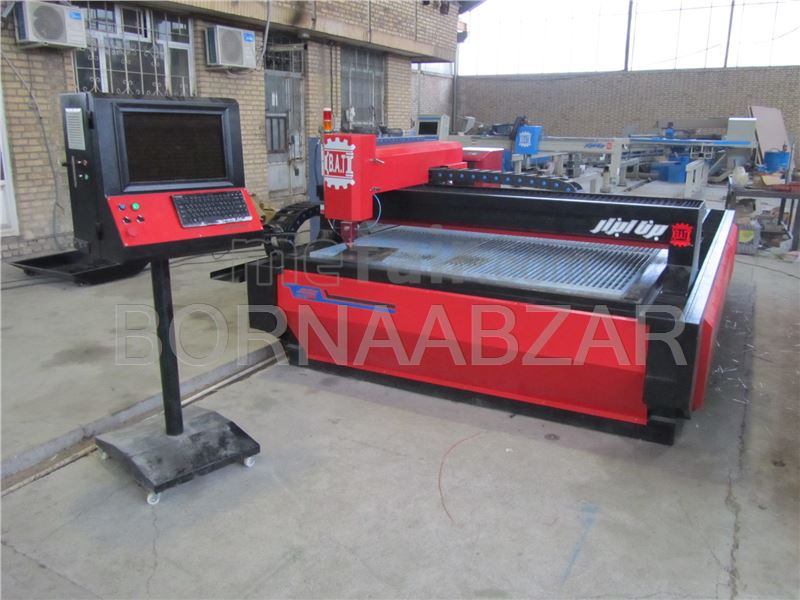 Designer and manufacturer of laser cutting machines in Iran