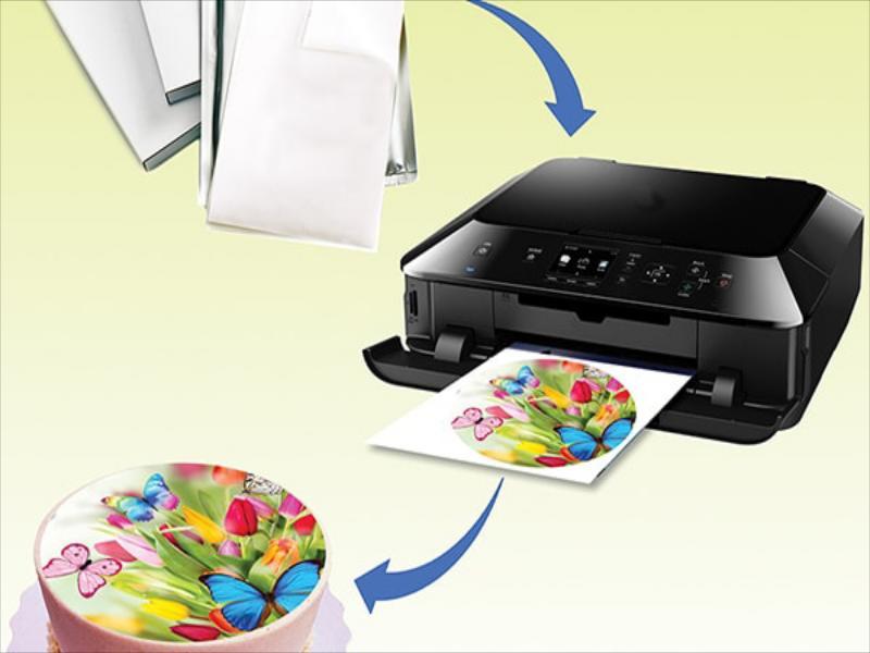 فروش و پخش انواع کاغذ خوراکی