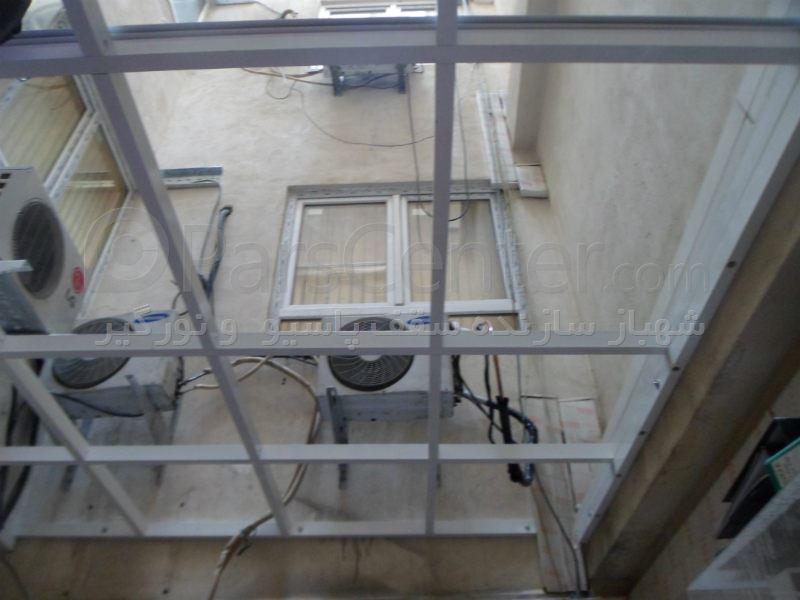ساخت گلخانه در اتاق roof _p سقف اتاق بایگانی (پاسداران . بوستان 10 شرکت ...