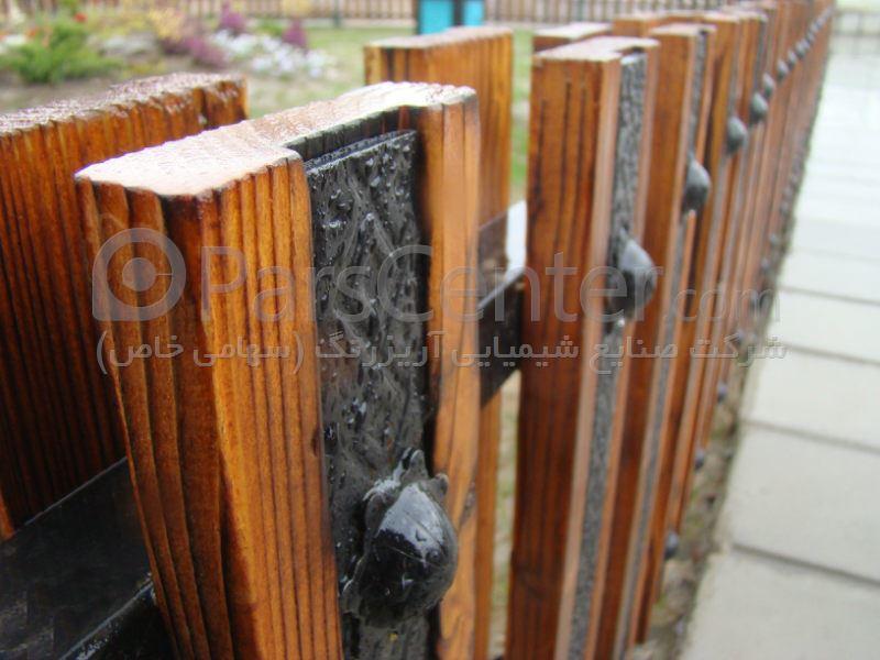 نرده چوبی،پارک مادر، شهرستان آمل