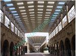 انواع پوشش نورگیر سقف تالار و مجتمع های تجاری,مسکونی,مذهبی