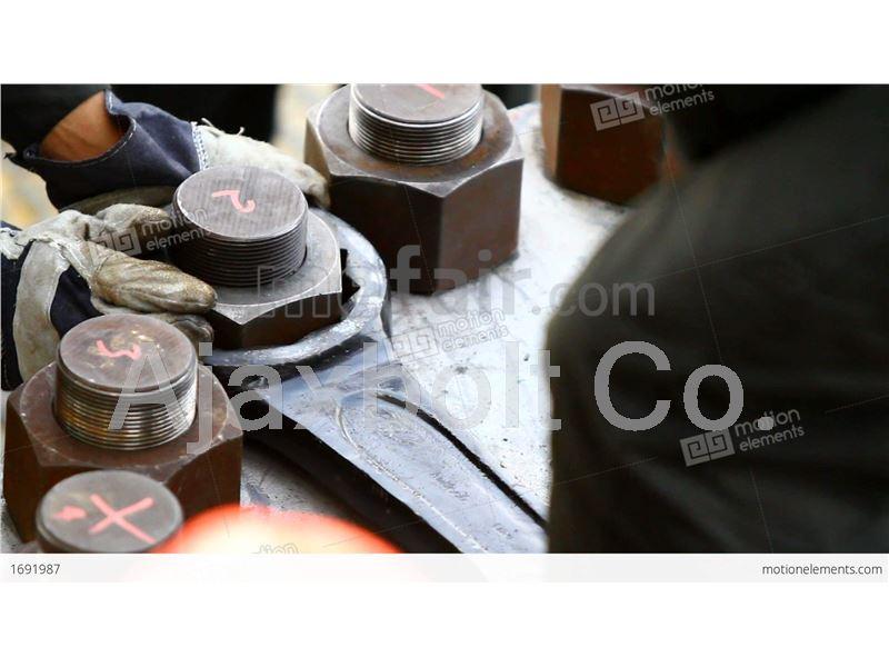 B7 carbon steel stud bolt