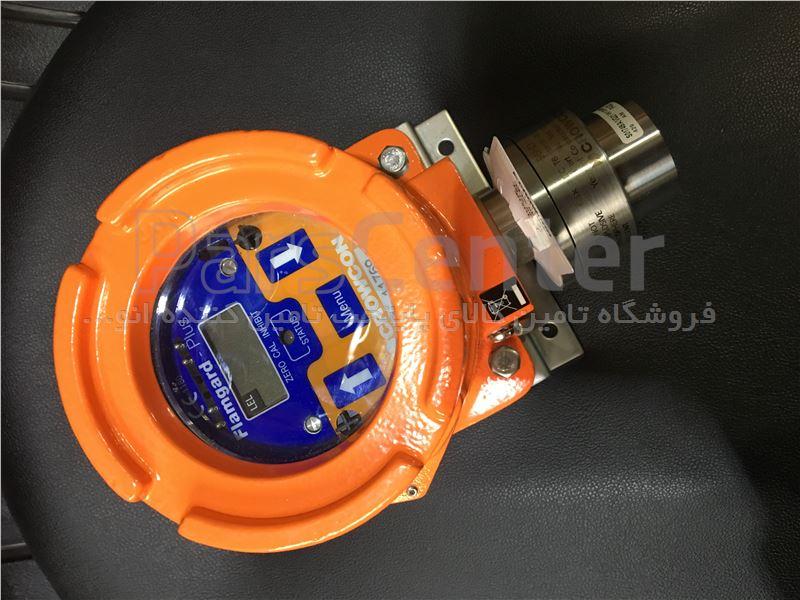 دتکتور ضد انفجار گاز متان CH4  gas detector مدل Flamgard plus