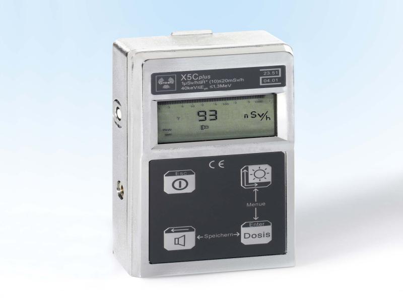 دزیمتر محیطی(رادیومتر) GRAETZ X5C-PLUS