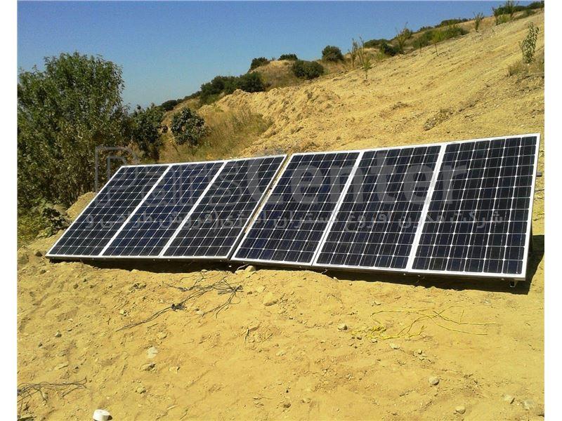 پمپ خورشیدی 320 متری روزکار
