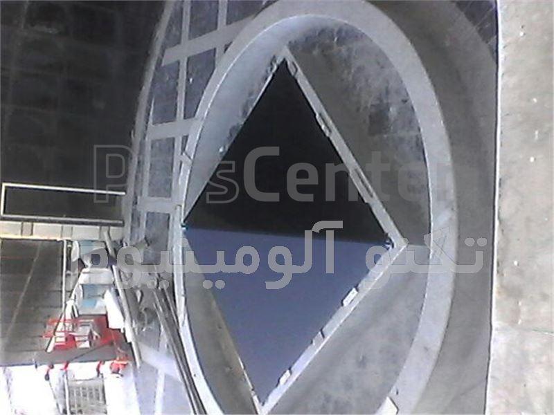 نمای شیشه ای کرتین وال T 502چیست