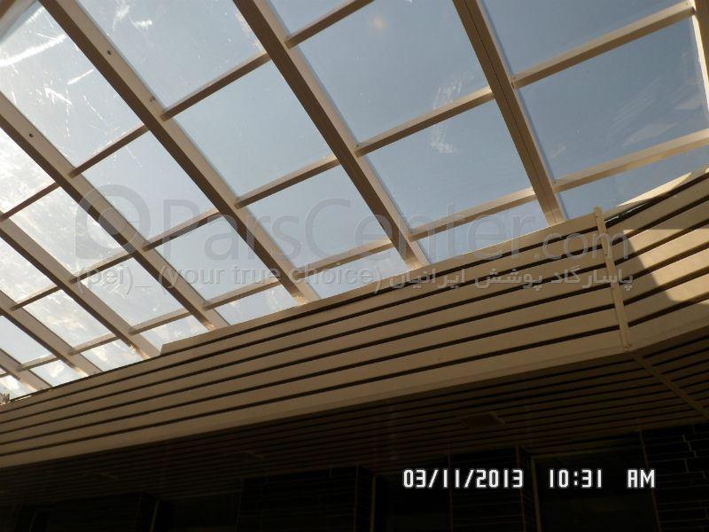 سقف ثابت استخر شنای عمومی مردانه مجتمع آبدرمانی وله زیر ( مشگین شهر)