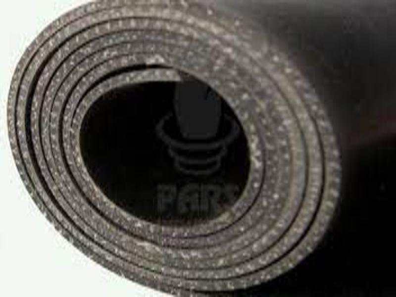 Threaded linen rubber