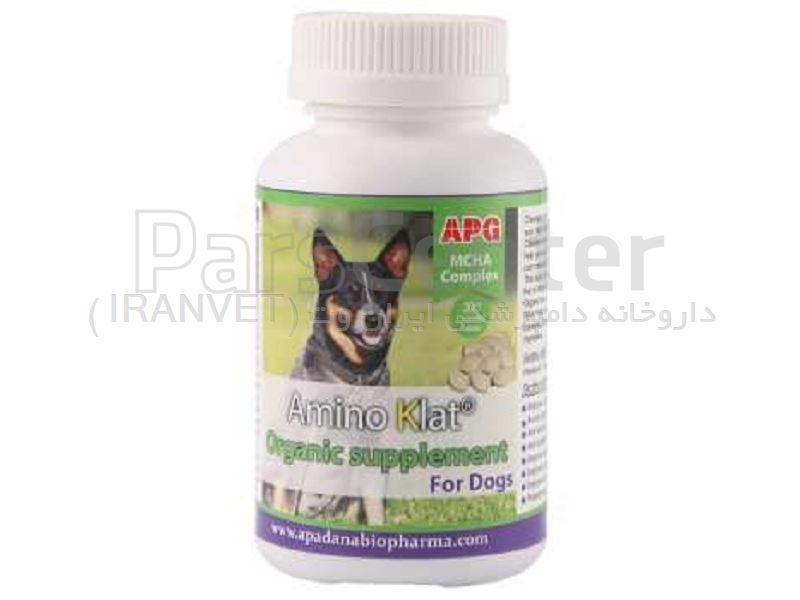 مکمل تقویتی درمانی سگ آمینو کلات کد 1150041