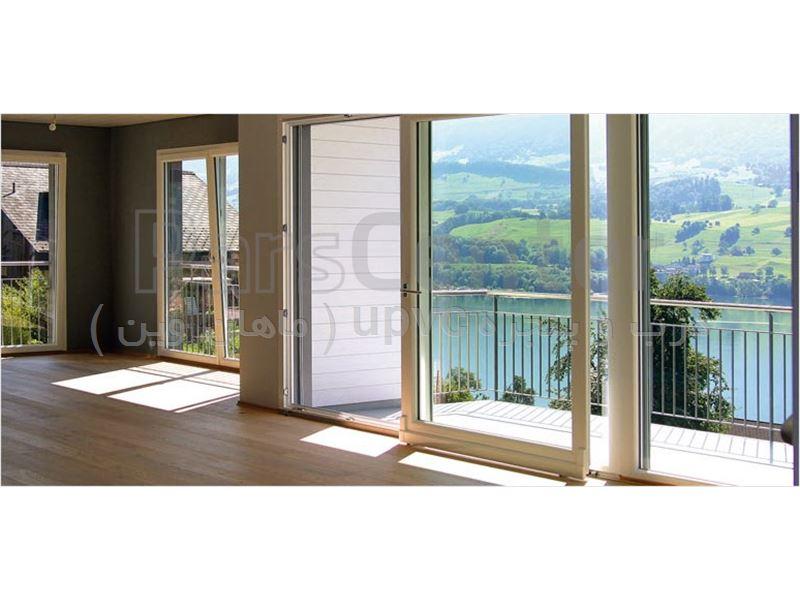 تولید درب و پنجره دوجداره upvc