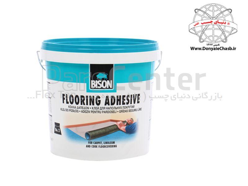 چسب کف پوش بایسون BISON Flooring Adhesive هلند