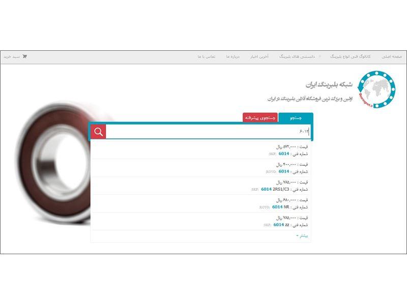 Iran's Bearing Network
