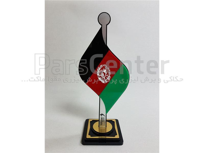 پرچم رومیزی از جنس پلکسی گلاس لوکس