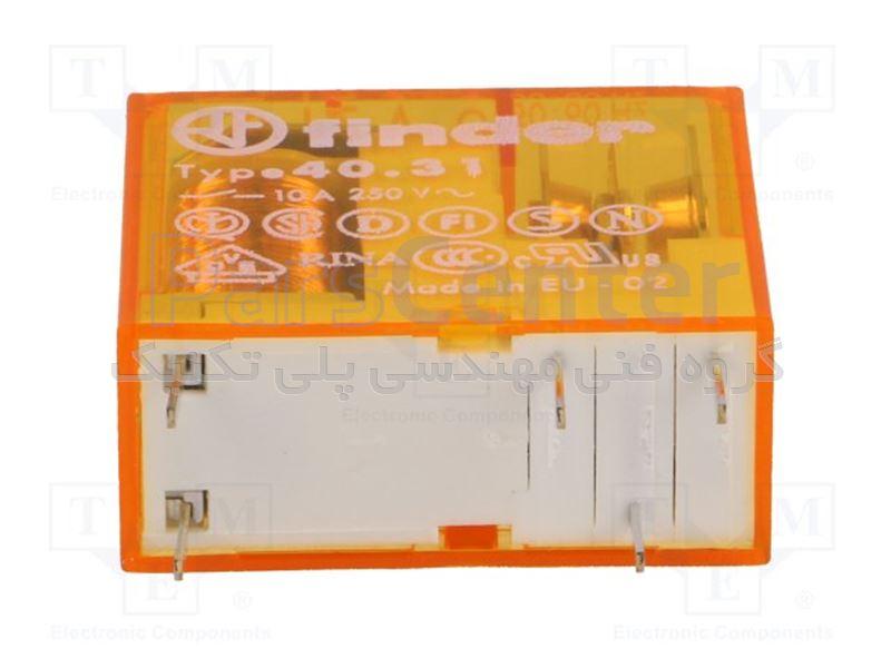 رله فیندر پایه سوزنی 5 پین مدلj 40.31.8.012.0000