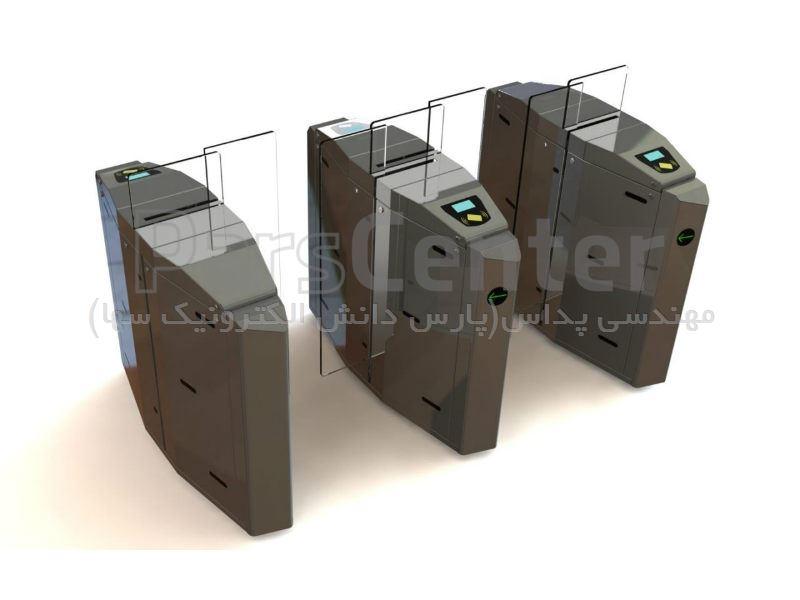 گیت کنترل تردد شیشه ای hp102
