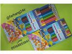 مداد ۱۲ رنگ مقوایی فانسیا