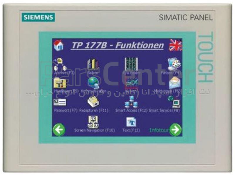 HMI زیمنس مدل  6AV6642-0BA01-1AX1