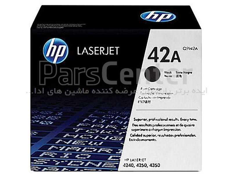 کارتریج لیزری مشکی HP Q5942A