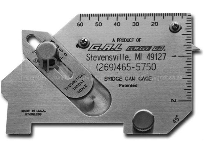 گیج های بازرسی چشمی جوش Weld Measuring Gauges