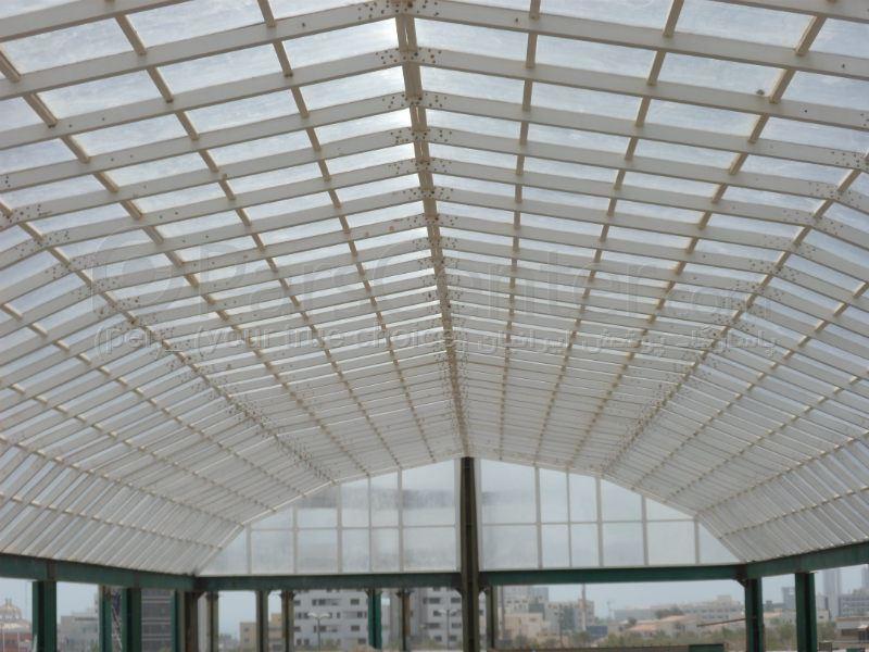 Building skylight_ نورگیر سقف مرکز خرید مروارید نو (جزیره کیش)