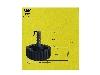 پایه پیچی پلاستیکی با قطر پیچ : 6 میلی متر وارتفاع : 36 میلی متر