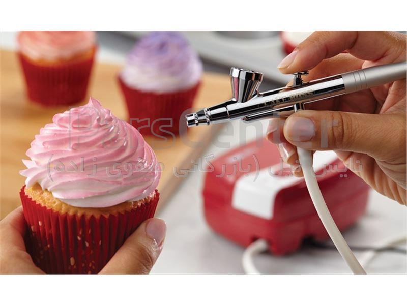 ایربراش طراحی کیک پریکاتن