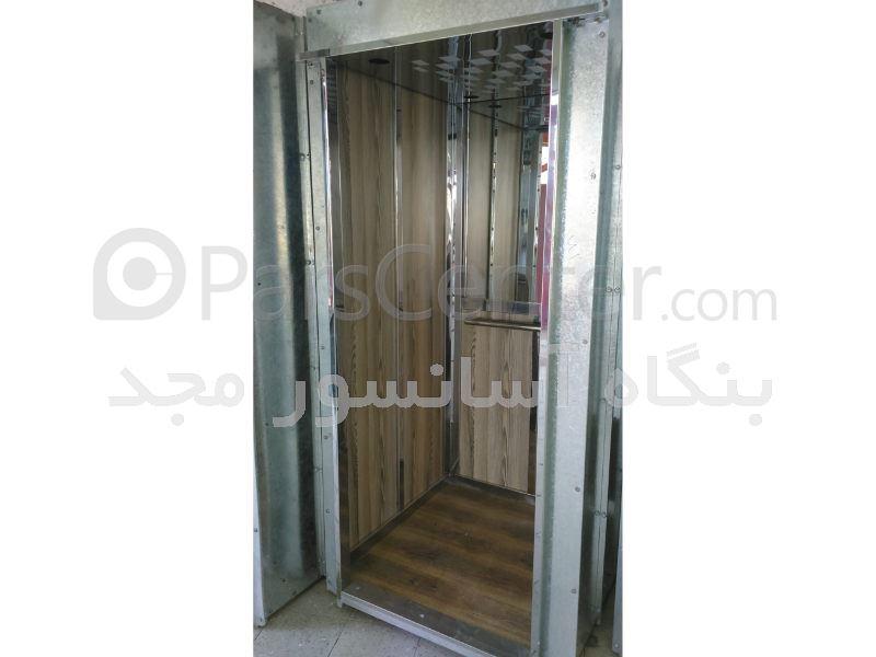 کابین آسانسور فرمیکا استیل طرح گلدیس