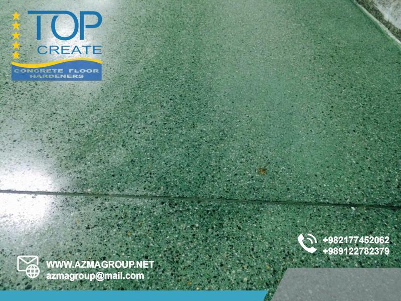 مصالح کف سازی سخت صنعتی ( بتن سخت ملاتی )                                       Top Create - HD