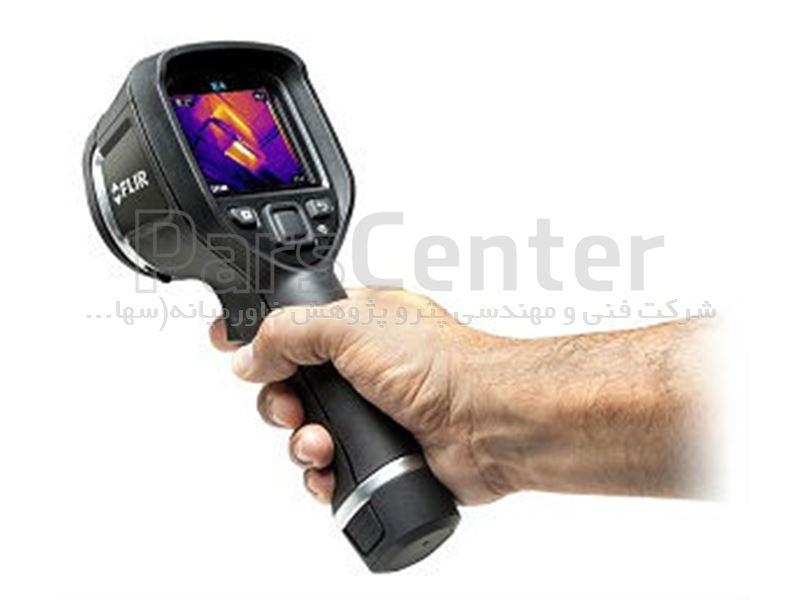 دوربین مادون قرمز با MSX  مدل FLIR E4