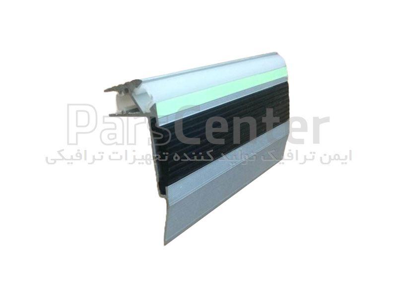 نبشی پله آلومینیومی با نوار LED مدل 05