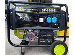 موتور برق 5.5Kw بنزینی با استارت و باطری ( SUNPPOWER ) ساخت چین مدل SP 8500E