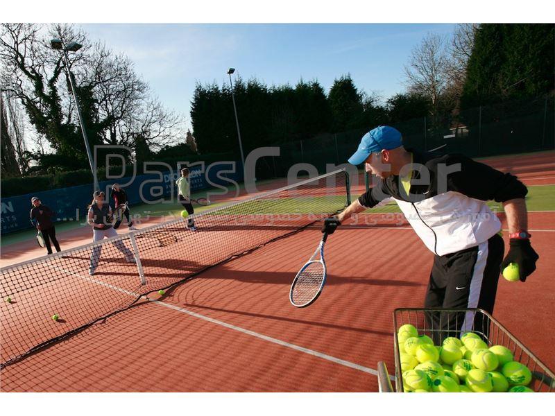 آموزش تنیس خاکی در تهران برای تمامی سنین