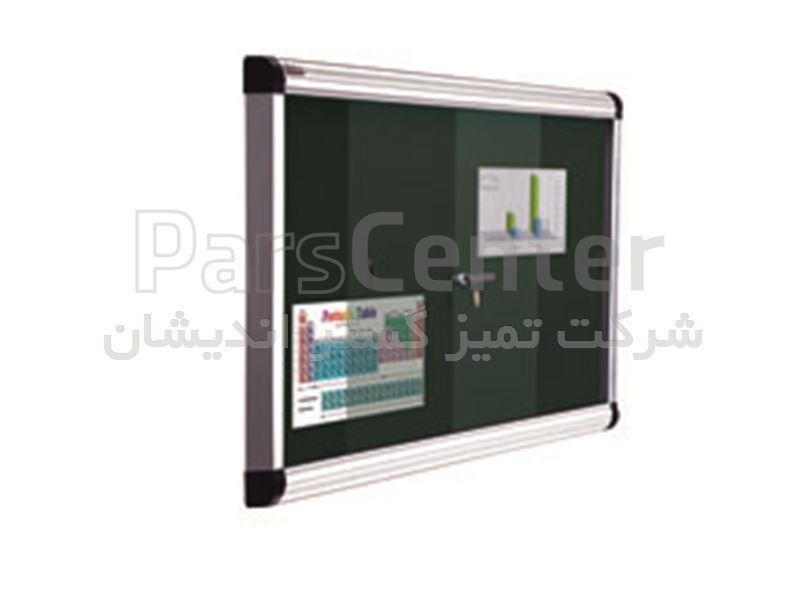 تابلو اعلانات قابدار سایز 150 * 90 ( بدون شیشه )