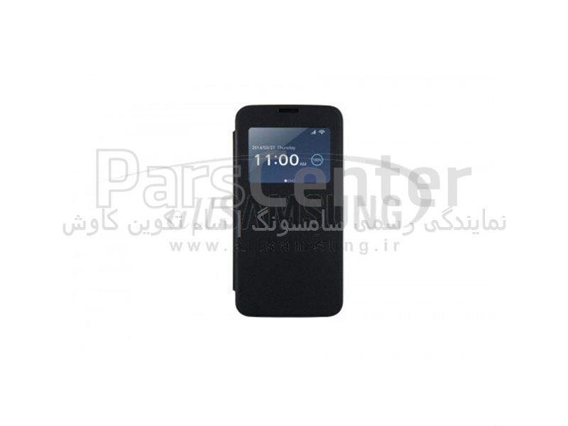 Samsung View Flip cover(AnyMode)Galaxy S5 Black ویو فلیپ کاور انی مد مشکی گلکسی اس 5 سامسونگ