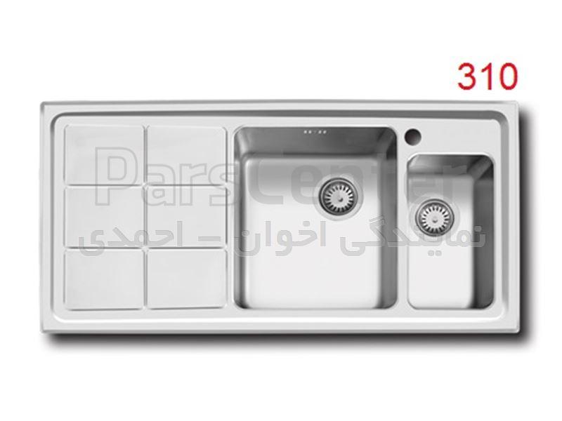 سینک ظرفشویی اخوان مدل 310