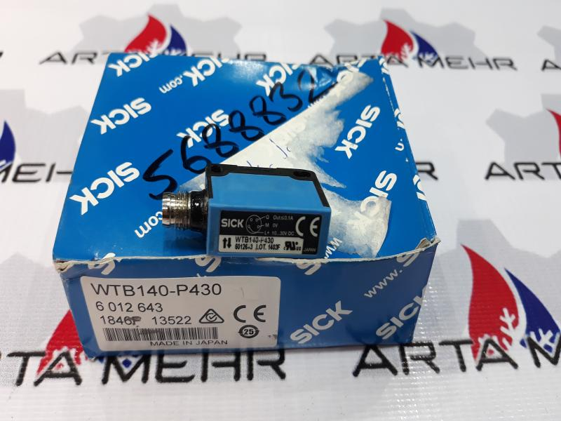 سنسور فتو الکتریک SICK مدل WTB140-P430