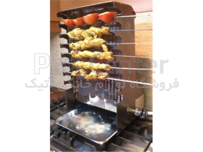 کباب پز ساده گازی ایستاده بدون دود ضیافت - محصولات کباب پز در پارس ...... کباب پز ساده گازی ایستاده بدون دود ضیافت
