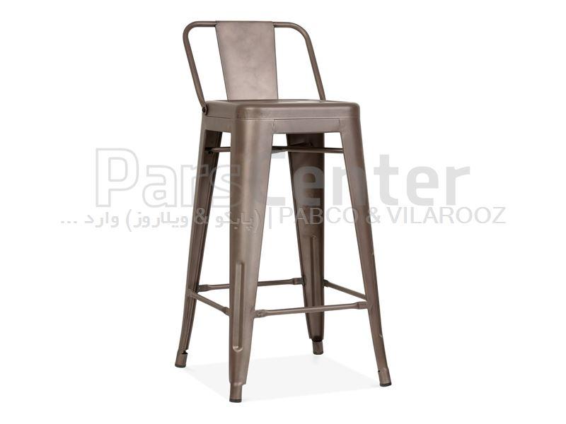 صندلی اپن فلزی تولیکس پشت کوتاه  (کوگار ترکیه)