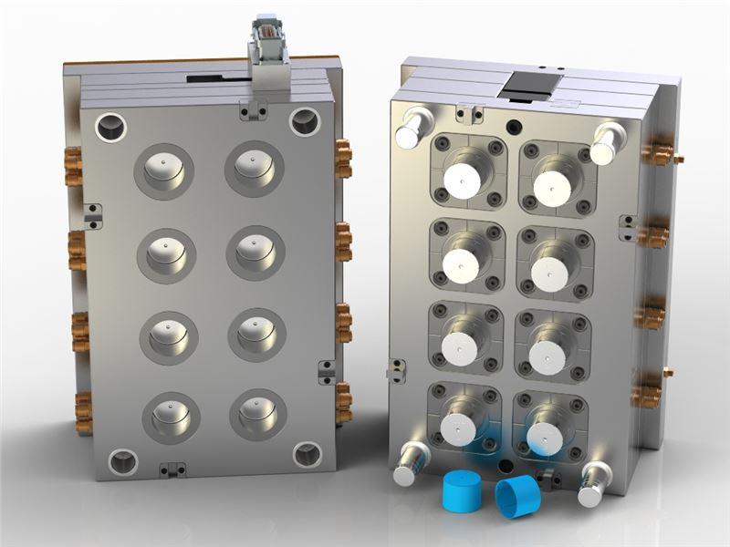 دیامولد : خدمات طراحی و مدلسازی سه بعدی قالب های تزریق پلاستیک