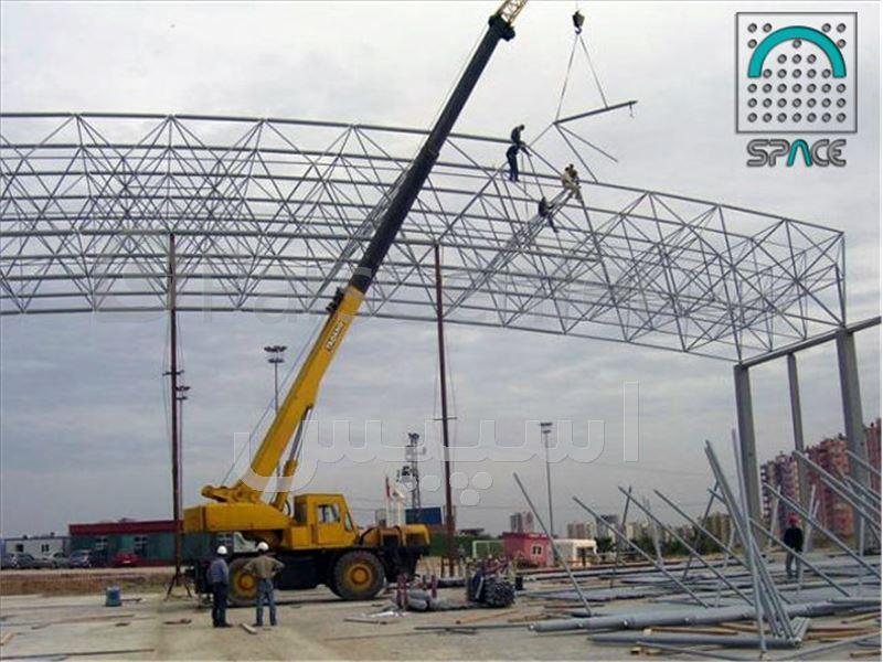 ساخت و نصب سازه های فضایی - محصولات عمران - سایر در پارس سنترساخت و نصب سازه های فضایی ...