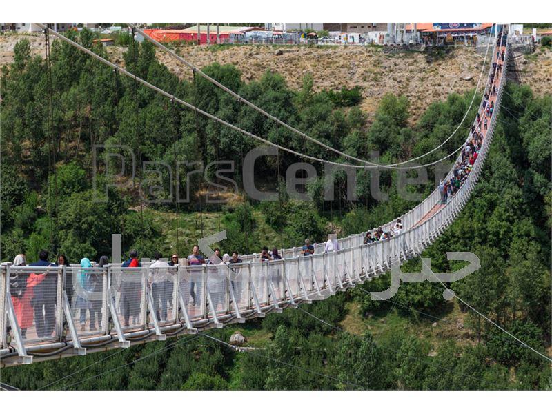 اجرای پل های معلق