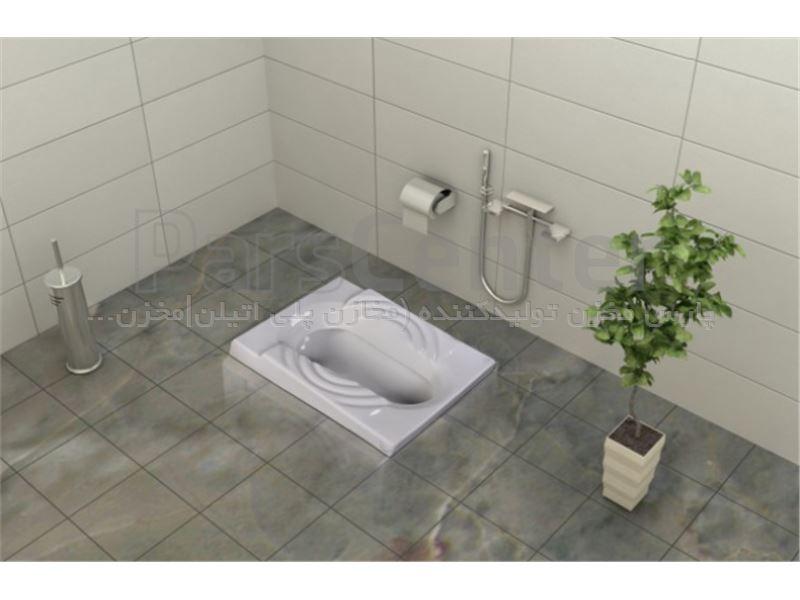 توالت زمینی مدل سهند گلسار فارس