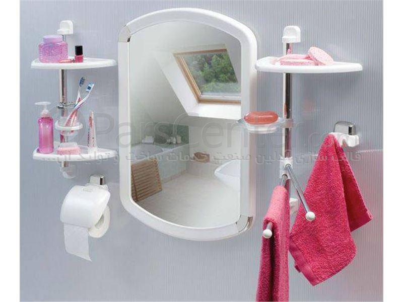 ساخت قالب تزریق پلاستیک قاب آینه حمام و ست رو شویی