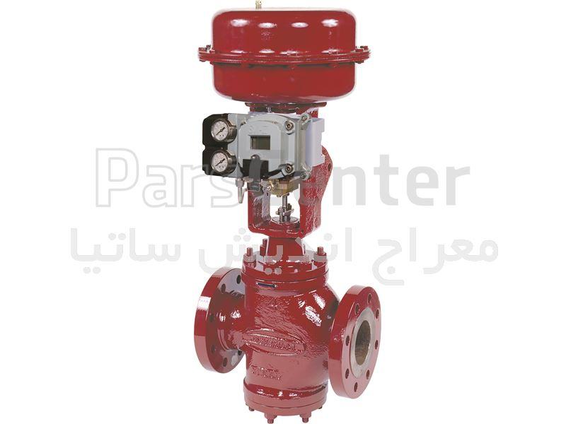 شیرهای کنترلی ( control valve )