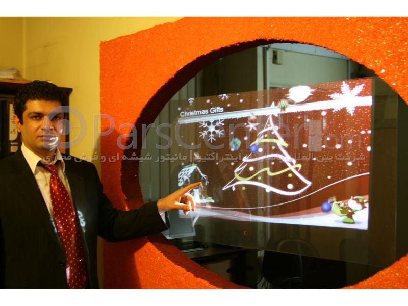 تبدیل شیشه به تلویزیون پاسارگاد اینتراکتیو