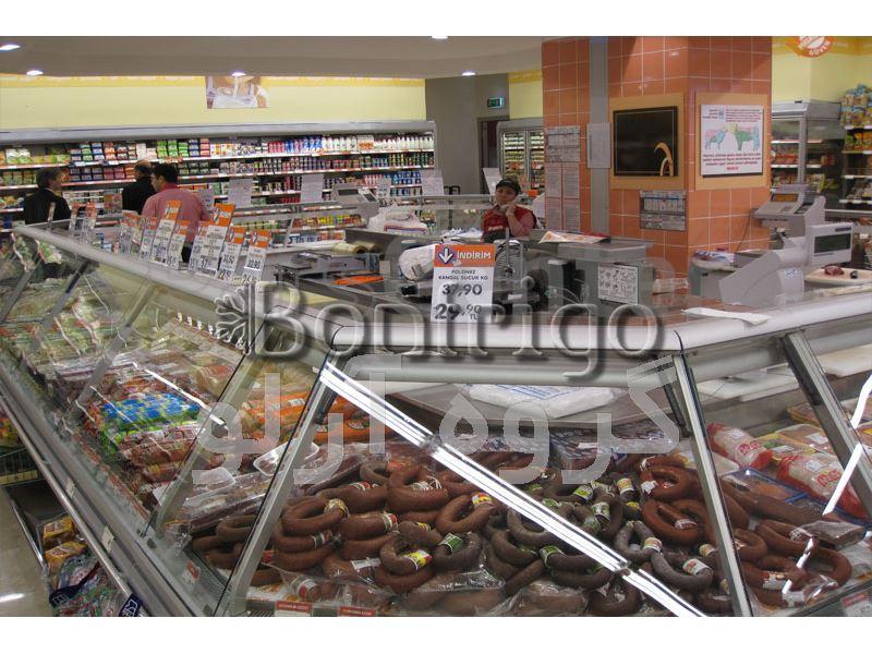یخچال ویترینی فروشگاهی،یخچال مدل جزیره ای