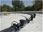 نمای نصب چراغ LH-5001-9Aدرآبنمای پارک امیرکبیر