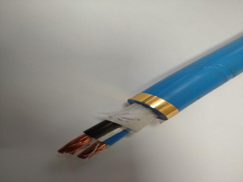 کابل افشان تخت ۱۲۰×۳ SWR مقاوم در برابر نفوذ آب ،کابل درون چاهی